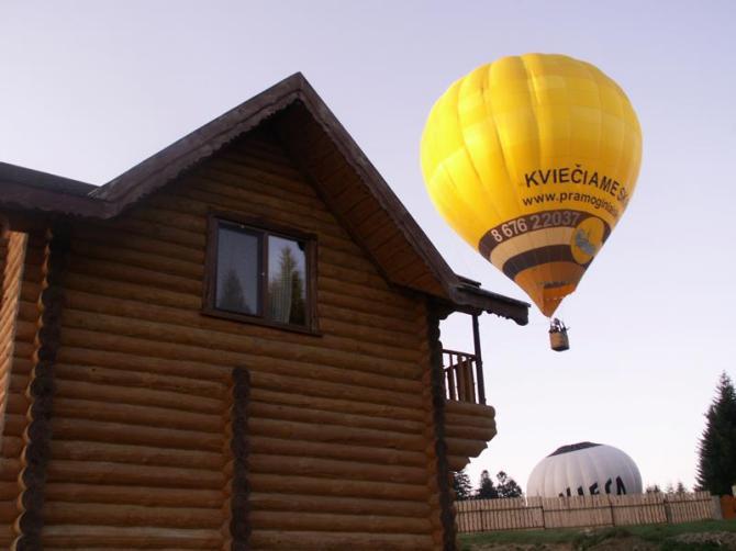 Східниця повітряні кулі