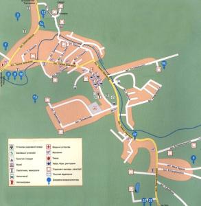 Східниця карта