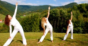 Східниця йога в Садибі Дримба