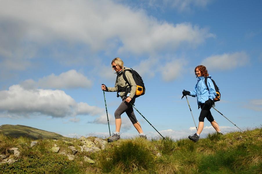Скандинавська ходьба в Карпатах