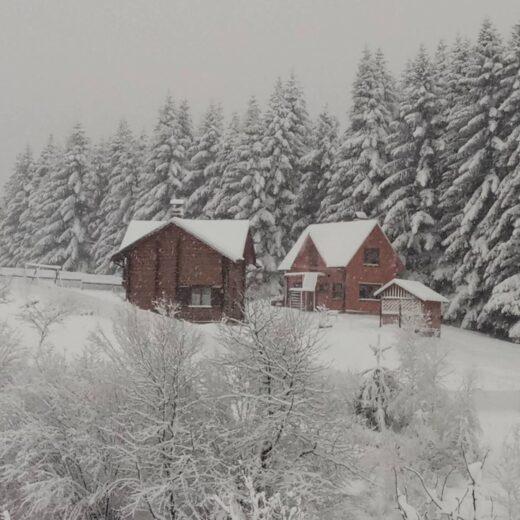 Усадьба зима