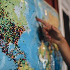 Карта, путишествия